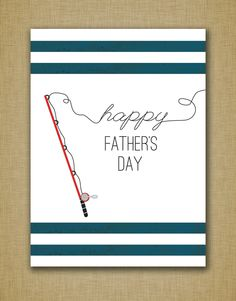 FREE Father's Day gift card printable! For any dad that loves to fish! Cards For Dads, Fathers Day Cards, Kids Cards, Men's Cards, Greeting Cards, Scrapbooking Ideas, Scrapbook Cards, Homemade Cards For Men, Card Ideas