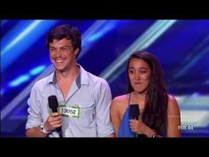 "Alex & Sierra, The X Factor USA 2013 Auditions This was an awesome audition from two University of Central Florida students.  You've got to listen to their rendition of Brittany Spears song ""Toxic"".  Buy the way, they got four YESES!  Looking forward to seeing more of them in the coming weeks."