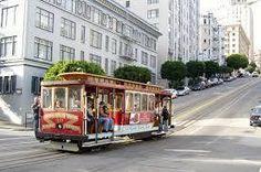 A Tram in San Francisco USA