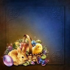 Moonbeam& Easter Joy is a nature for Daz Studio or Poser created by Easter Messages, Easter Backgrounds, Easter Wallpaper, Cute Chickens, Easter Pictures, Diy Gift Box, Coloring Easter Eggs, Easter Celebration, Writing Paper