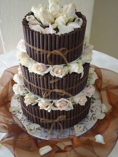 Sedona Wedding Cakes White Chocolate Cigar Wedding Cake.