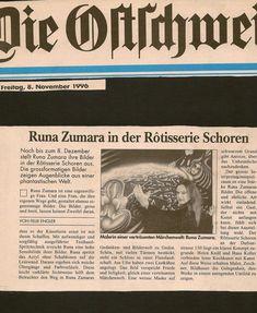 Ausstellung Schoren in St.Gallen 1996
