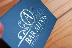Bar Aldo's Identity Design by Destrukt Studio