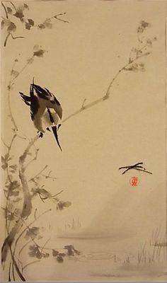 japanische kunst vögel - Google Search