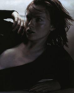 Vogue Italia October 2001 Top to Toe: Black Karen Elson By Javier Vallhonrat