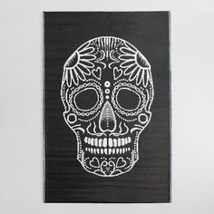One of my favorite discoveries at WorldMarket.com: 4'x6' Los Muertos Reversible Indoor Outdoor Rio Floor Mat