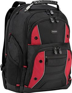 06cc49da7da4 The Targus Drifter II Laptop Backpack is designed to fit laptops with up to  16 inch screens. The Drifter II backpack features two large compartments  for ...