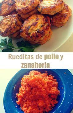 Receta para preparar rueditas de pollo y zanahoria. Pin ahora para usar en tu menú semanal.