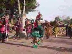 Fiesta de máscaras dogones en Nombori