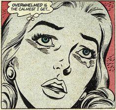 this isn't happiness™ - photo caption contains external link Comic Books Art, Comic Art, Book Art, Vintage Pop Art, Retro Art, Arte Do Pulp Fiction, Arte Horror, Arte Pop, Comics Girls