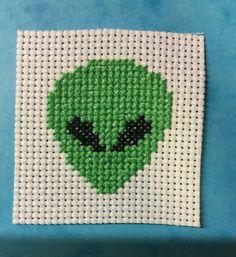 Alien Cross Stitch