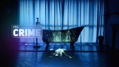 RTL CRIME IDENTS  Our concept behind this Rebrand, 'There is more than meets the eye', is clearly visible in the Idents.  What starts as a seemingly normal scene changes quickly, with the new logo of RTL CRIME revealing the true nature of the story.