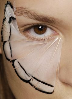 Backstage detail of Alexander McQueen Spring 2008 RTW - Inspiration for Fall shoot