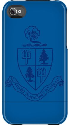 Delta Delta Delta Crest by Sorority Life for iPhone 4/4S Capsule