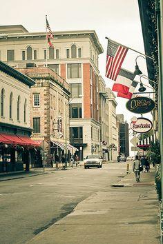 Savannah's historic district