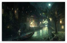 Assassin's Creed 2 Venice HD desktop wallpaper : High Definition : Fullscreen : Mobile : Dual Monitor
