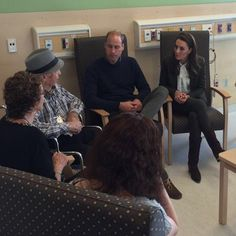 After their visit to the museum, the royal couple visited the new Haida Gwaii Hospital and Health Centre