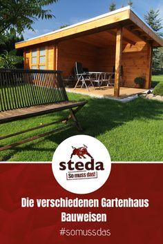Informiere dich jetzt über die verschiedenen Bauweisen unserer Gartenhäuser und ihre Vor- und Nachteile. So muss das!