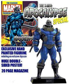Eaglemoss Marvel Comics Apocalypse Lead Figurine