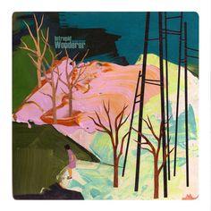 "Juxtapoz Magazine - Seonna Hong ""Persistence of Vision"" @ LeBasse Projects, LA Artist Painting, Artist Art, Persistence Of Vision, Posca Art, Naive Art, Community Art, Contemporary Paintings, Landscape Art, Collage Art"