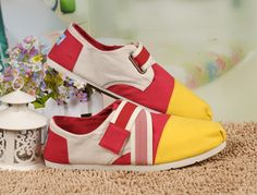 #Toms Magic #Montage Yellow #Shoes Womens