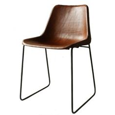 Leather chair  'Sol y Luna'