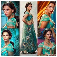 Aladdin 2019 Jasmine Dress Live Action Costume Outfit for Adults Aladin And Jasmine Costume, Princess Jasmine Costume, Aladdin Costume, Disney Princess Jasmine, Disney Princess Pictures, Aladdin And Jasmine, Disney Princess Dresses, Princess Costumes, Live Action