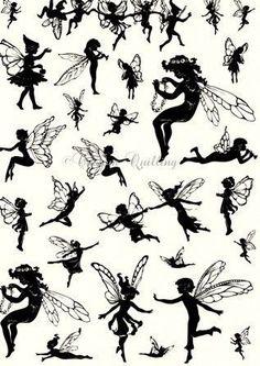 Fairy Cutouts