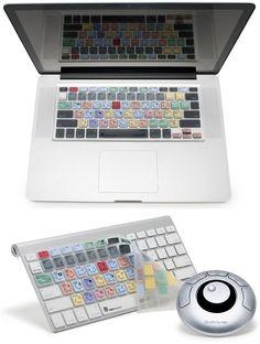 LogicSkin Adobe Photoshop Apple keyboard