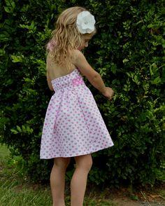 Girls Valentine's Hearts Dress #moocuzzi #handmade #girlsdress #valentinesday www.moocuzzi.com.au
