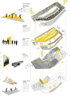 Architectural Concept Diagram - Welcome my homepage Poster Architecture, Site Analysis Architecture, Plans Architecture, Architecture Presentation Board, Architecture Concept Drawings, Pavilion Architecture, Presentation Layout, Architecture Portfolio, Architecture Diagrams