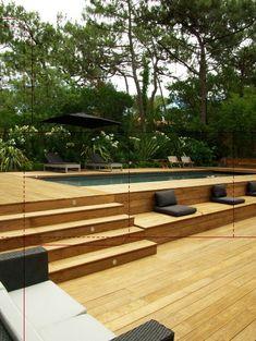piscine bois                                                                                           Plus