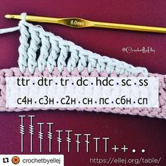 Learn how to crochet Straight Smooth Edges with Single Crochet and Half Double Crochet rows. Check it out - Salvabrani Crochet Diy, Crochet Unique, Puff Stitch Crochet, Crochet Motifs, Crochet Stitches Patterns, Tunisian Crochet, Crochet Chart, Crochet Basics, Crochet Hooks