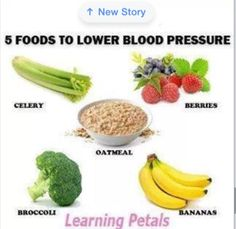 5 Foods to Lower high blood pressure