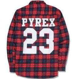 PYREX D-Boy Flannel Streetwear Shirt