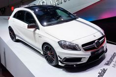 edition of Auto Show Geneva is behind us. This is our choice of 10 favorites from the exhibition. Mercedes A45 Amg, Mercedes Benz Cars, Ferrari Laferrari, Geneva Motor Show, Toys For Boys, Fast Cars, Cars And Motorcycles, Luxury Cars, Dream Cars