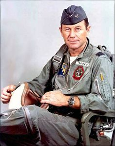 Chuck Yeager - this guy was the fastest man on the planet once. The first to break the sound barrier.