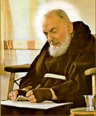 Quote by St. Padre Pio: You suffer, but you must rejoice too, because one day your suffering will change into joy.
