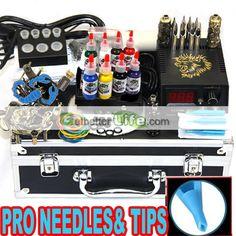 Buy beginner tattoo kits, cheap tattoo kits to have a well tattoo start. [WS-K201B-1]US$30.00 : getbetterlife.com