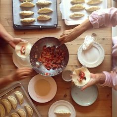 Empanada production for the big party