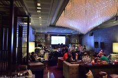 Sofitel Bankok Sukhumvit : cool light fixture, too!