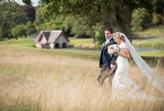 A sunny stroll on the big day by info: www. Top Wedding Photographers, Just Married, Husband Wife, Big Day, Veil, Grass, Ireland, Awards, Wedding Day
