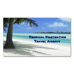 Travel Agent Business Cards. I love this design! It is available for customization or ready to buy as is. All you need is to add your business info to this template then place the order. It will ship within 24 hours. Just click the image to make your own!