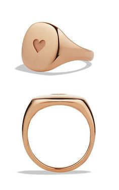 Heart Ring in Rose Gold