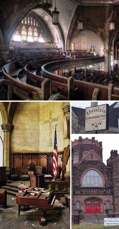Abandoned churches may symbolize to some the weakening of religion in the modern age but that's far too simplistic an explanation – people can move, churches not so much. These 7 amazing abandoned churches stand as testaments to the power of faith