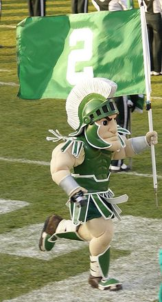sparty on