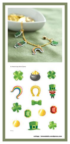 Patrick's Day style with cute shrink charms perfect for jewelry. You may end up creating a lucky bracelet! Saint Patrick, Shrink Art, Shrinky Dinks, Fundraisers, Disney Family, St Patricks Day, Creations, Charmed, Crafts