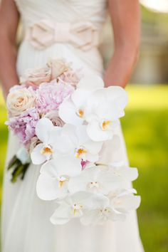 orchid wedding bouqu