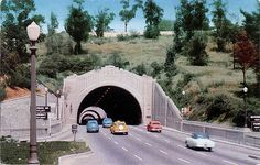 Figueroa Tunnels, Los Angeles 1940s - Later became the Pas… | Flickr