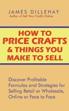 Ways to Increase Prices when Selling Handmade Crafts on Etsy and at Craft Fairs Craft Show Displays, Craft Show Ideas, Crafts To Make And Sell, How To Make Money, Craft Font, Do It Yourself Inspiration, Craft Online, Bulletins, Craft Business
